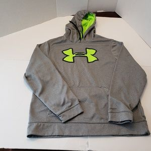 Under Armour Storm Gray Mens Hoodie Large